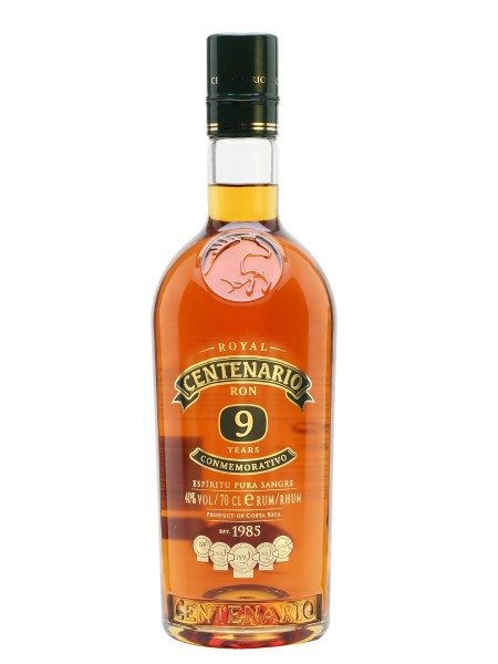 Centenario Rum 9 Conmemorativo 40% - 700 ml