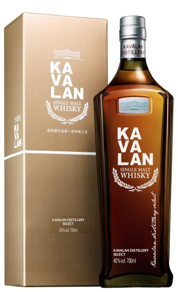 Kavalan Distillery Select Single Malt Whisky 0,7l 40%