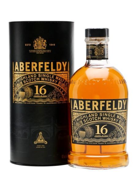Aberfeldy 16 years Single Highland Whisky 40% 0,7l