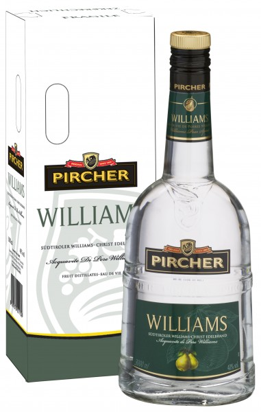 Pircher Williams Edelbrand 3l 40%