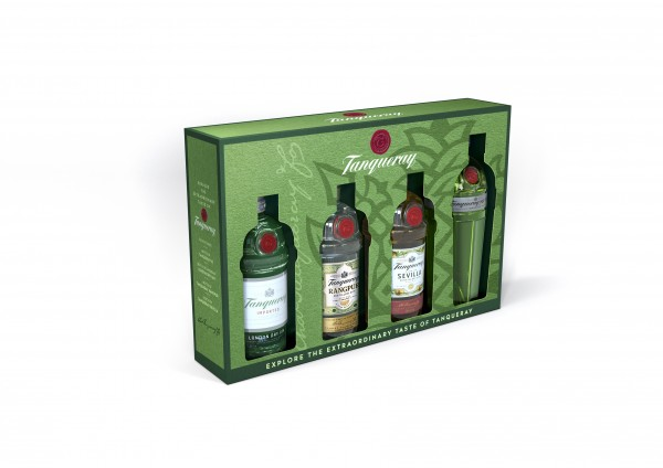 Tanqueray Gin Exploration Pack 4x5cl
