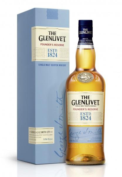 The Glenlivet Founder's Reserve Speyside Malt Whisky 40% 0,7l