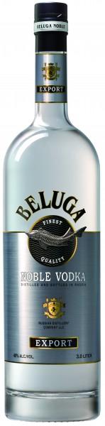 Beluga Noble Russian Vodka 40% vol. 3L
