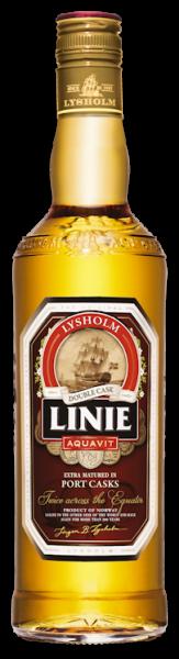 Linie Aquavit Double Cask Port 0,7l 41,5%
