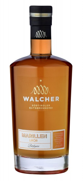 Walcher · Marillenlikör 28% vol · BIO
