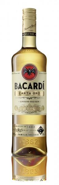 Bacardi Carta Oro Rum 40% 0,7l