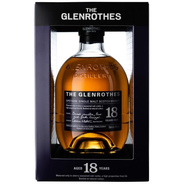 The Glenrothes 18 Jahre Speyside Single Malt Scotch Whisky 43% 0.7L