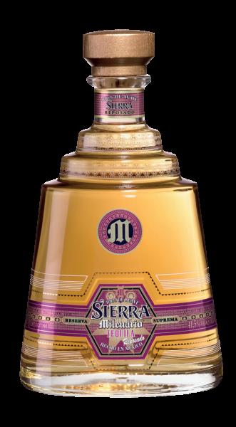 Sierra Milenario Tequila Reposado 41,5% 0,7l!