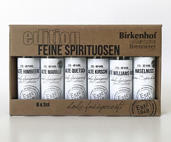 """Birkenhof Tasting-Set Edition: """"Feine Spirituosen"""" - Alte Sorten im Holzfass gereift"""