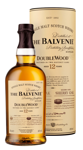 Balvenie 12 years Double Wood Speyside Malt Whisky 40% 0,7l