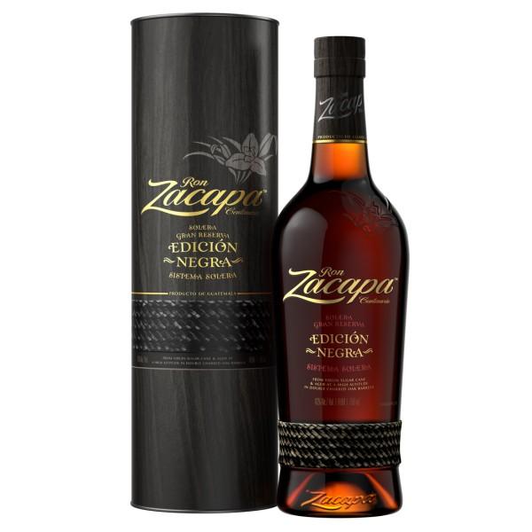 Zacapa Edición Negra Rum 0,7l 43%