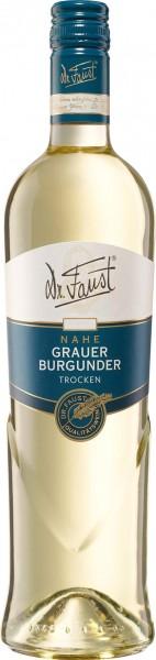 Dr. FAUST Grauer Burgunder QbA trocken 0,75 L