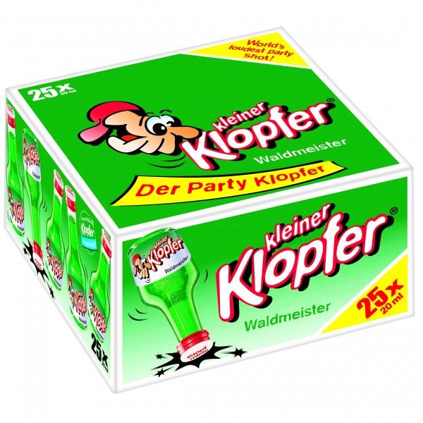 Kleiner Klopfer Waldmeister 25 x 0,02 L