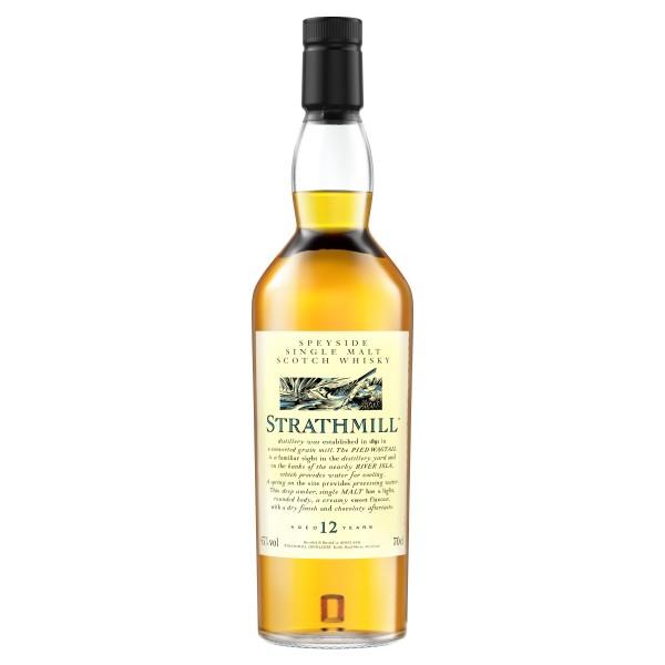 Strathmill 12 Jahre Single Malt Scotch Whisky 0,7l 43%