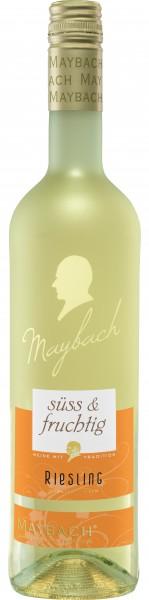 Maybach Riesling süß und fruchtig 0,75l