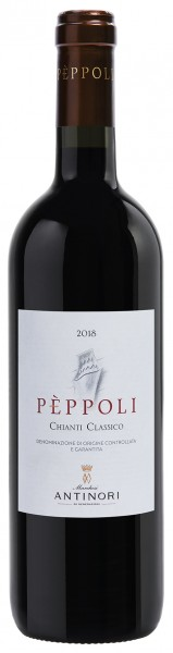 Antinori Peppoli Chianti Classico DOCG 0,75l, 2018