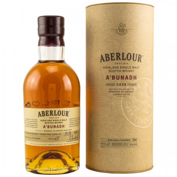 Aberlour A'Bunadh Speyside Malt Whisky 59,6% 0,7l