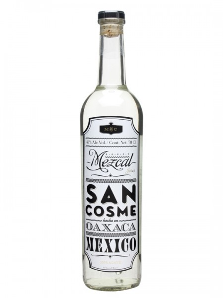 San Cosme Mezcal Blanco 40% 0,7l