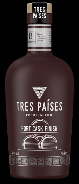 Tres Paises Port Cask 0,7l 40%