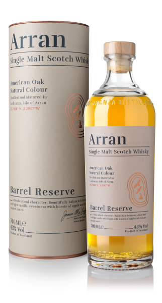 The Arran Barrel Reserve Single Malt Scotch Whisky 0,7l 43% in Geschenkpackung