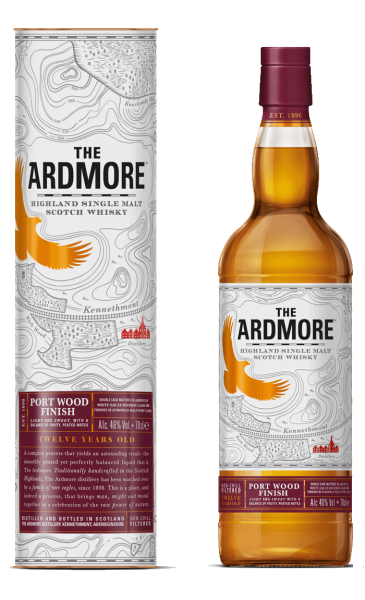 The Ardmore Portwood 12 years Speyside Malt Whisky 0,7l!