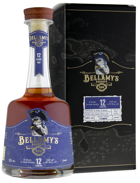 Bellamy's Reserve Rum 12 Jahre El Salvador PX Sherry Cask Finish 0,7l 42%