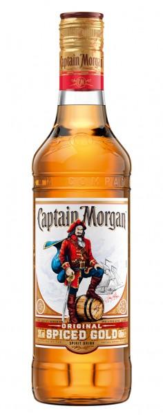 Captain Morgan Spiced Gold Rumverschnitt 0,5l 35%