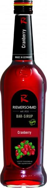 Riemerschmid Bar-Sirup Cranberry 0,7l