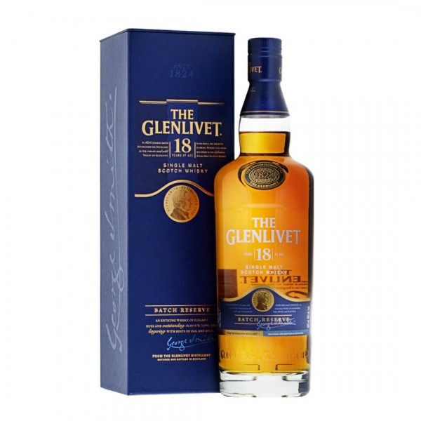 The Glenlivet 18 Years Batch Reserve Single Malt Scotch Whisky 0,7l 40%