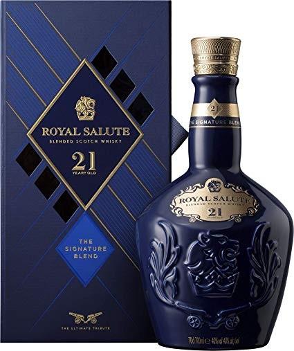 Chivas Regal 21 years Royal Salute Scotch Whisky 40% 0,7l!