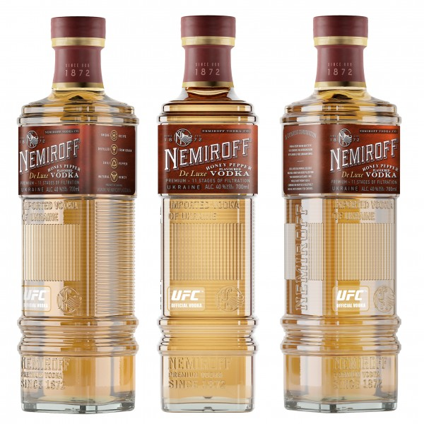 Nemiroff Vodka Honey & Pepper 0,7l
