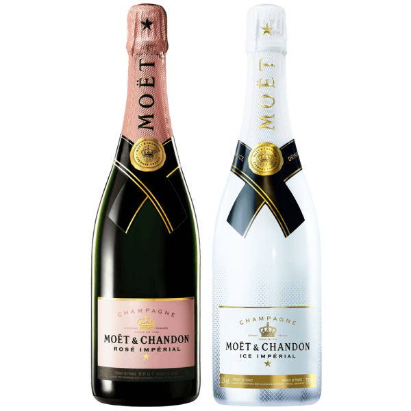 Moet Chandon Ice and Rose - Set