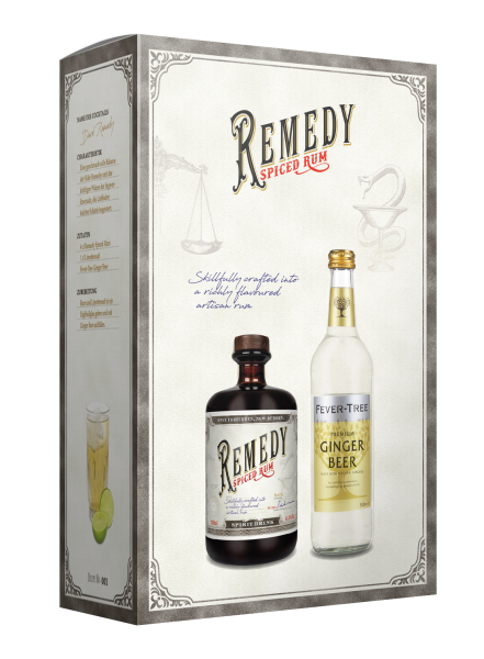 Dark Remedy GB 41,5% + Ginger Beer 50cl - 700ML