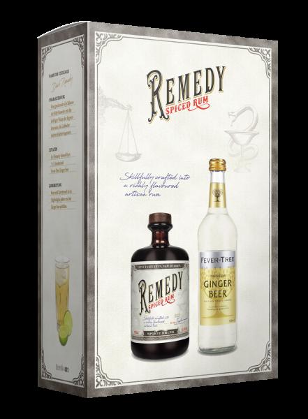 Dark Remedy GB 41,5% + Ginger Beer 50cl - 700ML