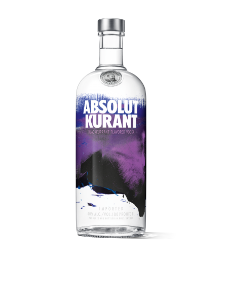Absolut Vodka Kurant 1l