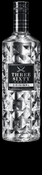 Three Sixty Vodka Original 1l 37,5%