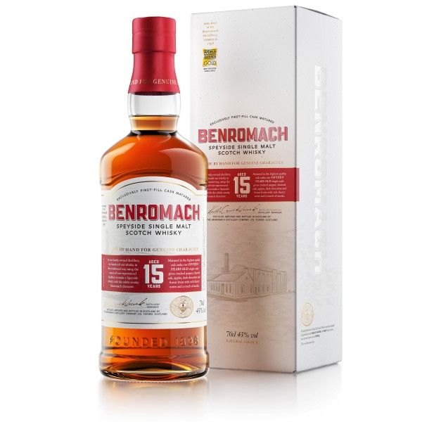 Benromach 15 years old 43% vol.