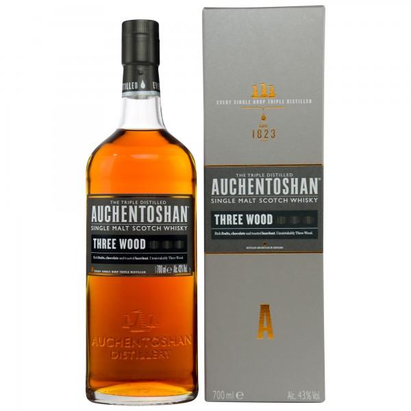 Auchentoshan Three Wood Lowland Single Malt Whisky 0,7l