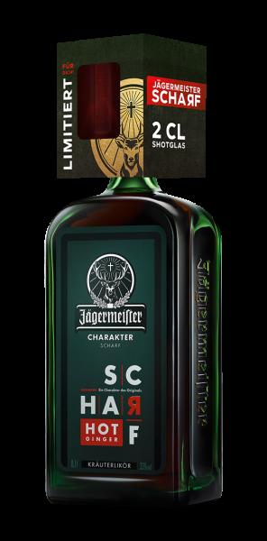 Jägermeister Scharf 0,7l 33% im Blisterkarton