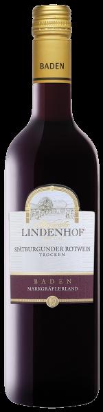 Lindenhof Spätburgunder QbA Baden trocken 0,75l