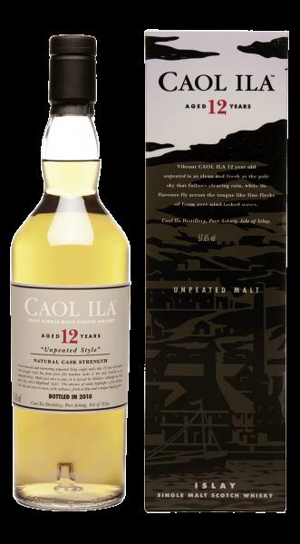 Caol Ila 12 years Islay Malt Whisky 43% 0,7l