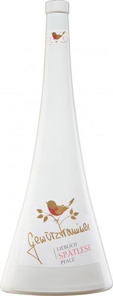 Premium Pfalz Gewürztraminer Spätlese lieblich 0,75l (Formflasche Avantgarde)