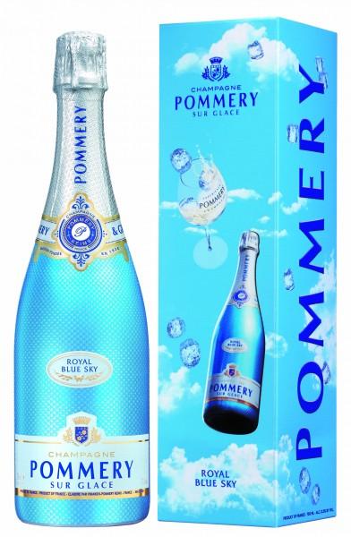 Pommery Royal Blue Sky in GP