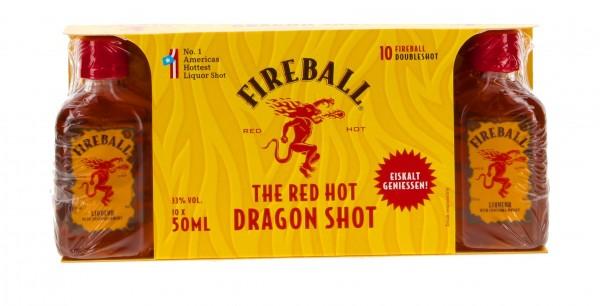 Fireball Whisky 10x 0,05l